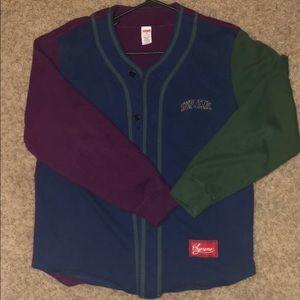 Supreme Baseball Jersey Size Medium